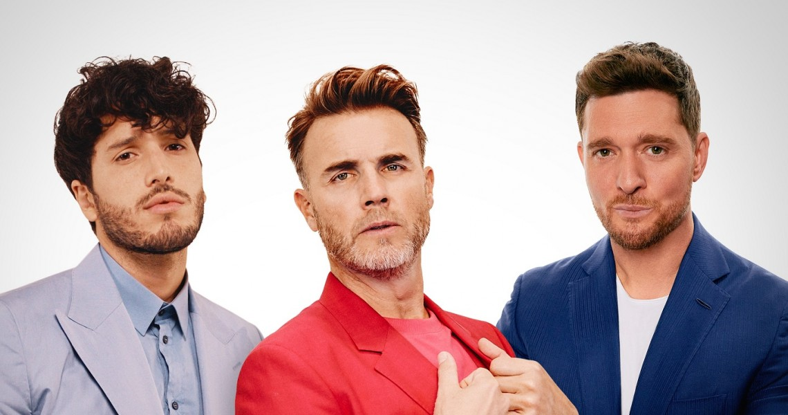 "Gary Barlow, Michael Bublé i Sebastián Yatra we wspólnym singlu ""Elita"""