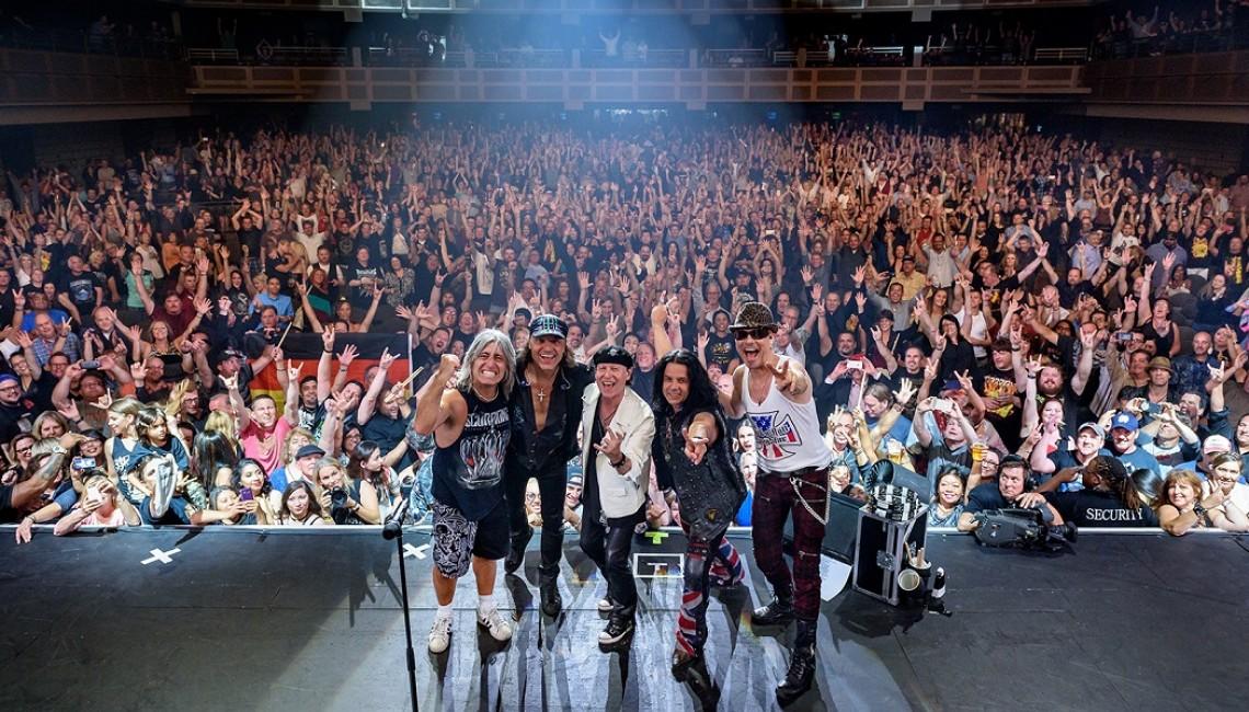 Na koncert Scorpions bilety znikają w expressowym tempie!