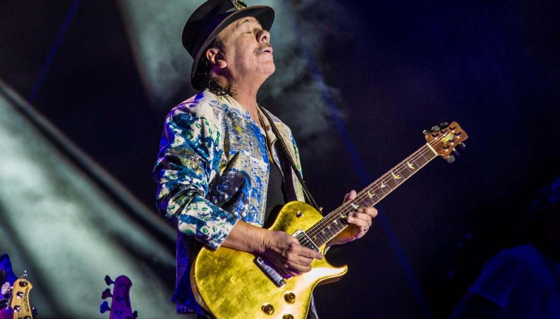 Carlos Santana prezentuje pierwszy singiel z nowego albumu! Gościnnie Rob Thomas i American Authors