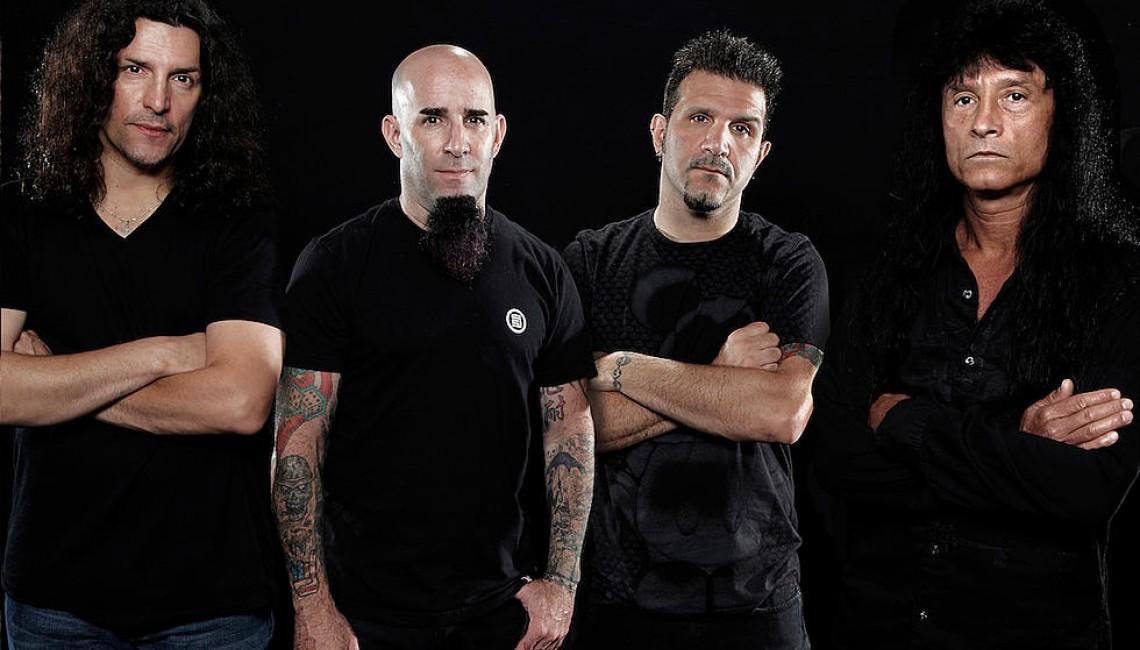 Anthrax już jutro na jedynym koncercie w Polsce!