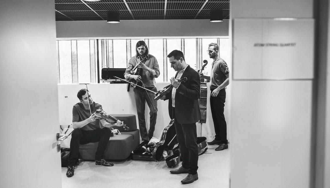Atom String Quartet oddaje hołd Krzysztofowi Pendereckiemu