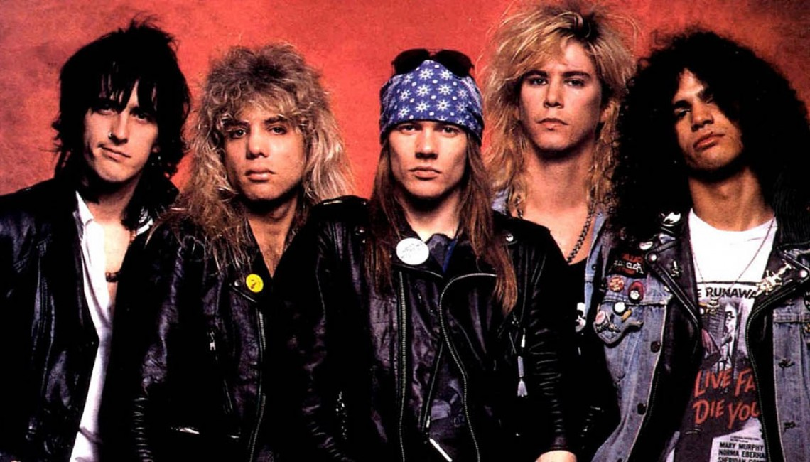 Guns N' Roses rządzą na YouTube