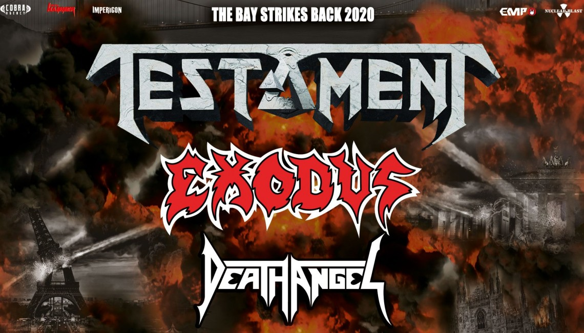 Testament, Exodus i Death Angel w przyszłym roku w Polsce!