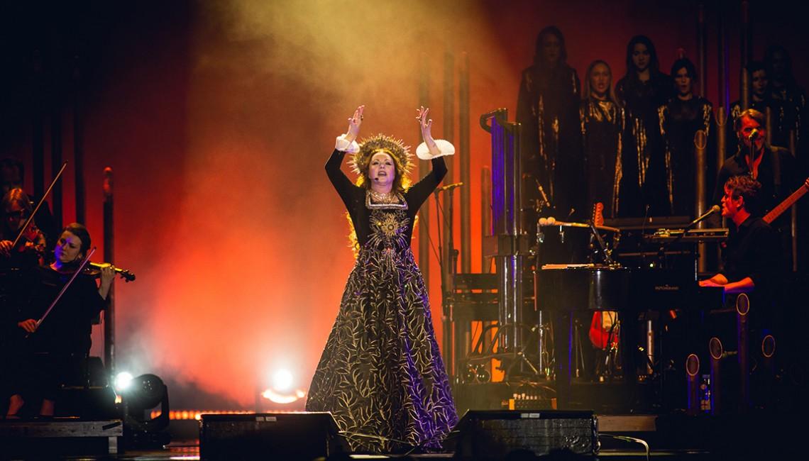 Sarah Brightman - olśniewający głos i dziewięć sukni