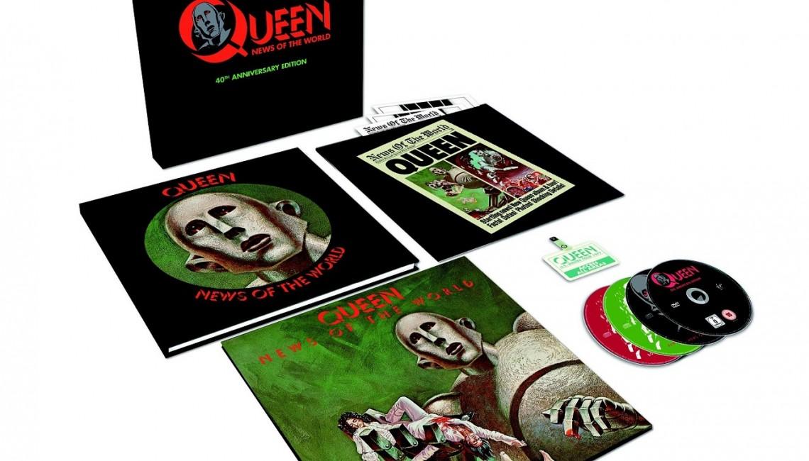 Obowiązkowy zestaw dla każdego prawdziwego fana Queen!