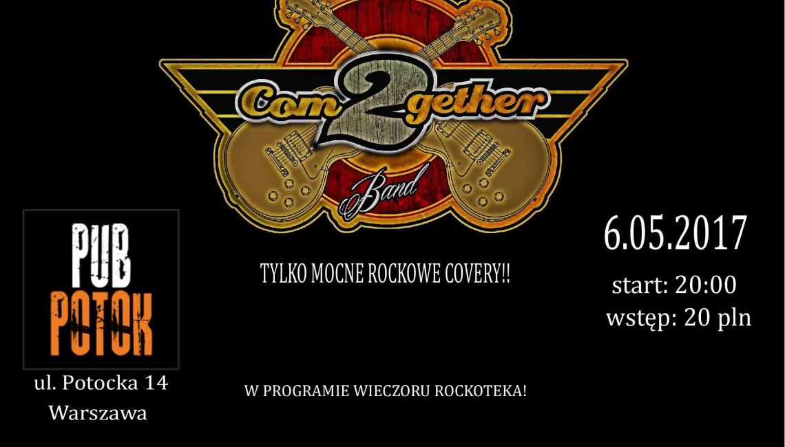Koncert zespołu Com2Gether 6 maja w Warszawie