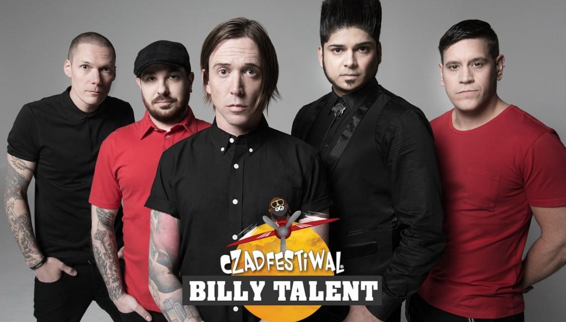 Billy Talent pierwszym ogłoszonym headlinerem Czad Festiwal 2017