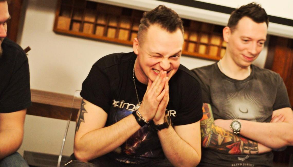 Spotkanie z Nocnym Kochankiem w Studio U22 (fotorelacja)