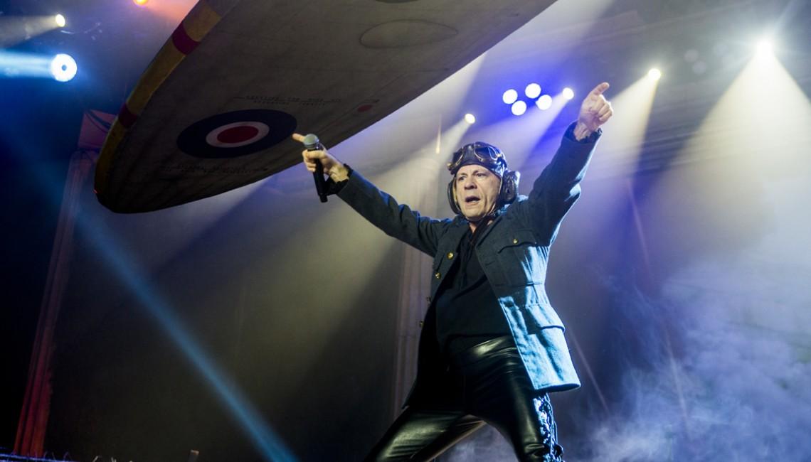 """Iron Maiden w Krakowie: """"Gdy ktoś próbuje zabrać Wam wolność, w Waszym kraju, musicie krzyczeć i walczyć"""