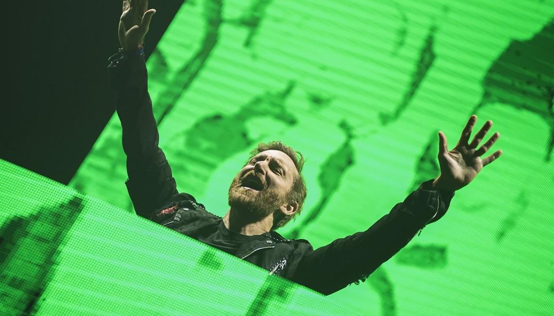 Nasza fotorelacja: Kraków naładowany energią Davida Guetty