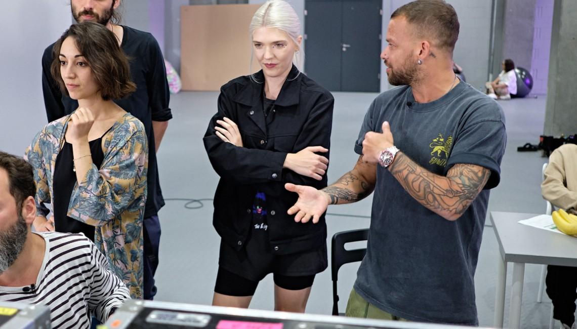 Zdjęcia z planu teledysku Darii Zawiałow