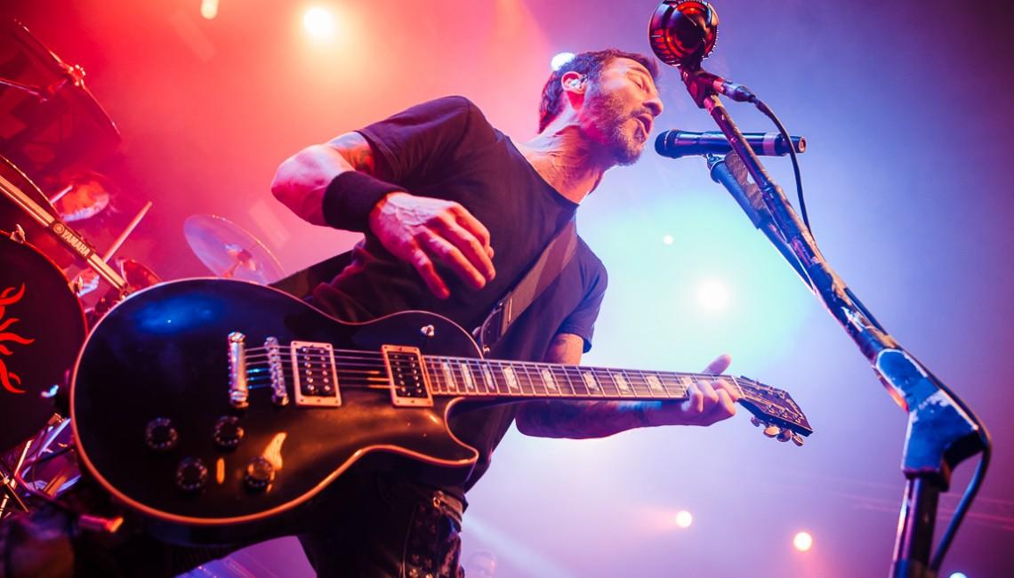 Nasza fotorelacja: Godsmack w Warszawie!
