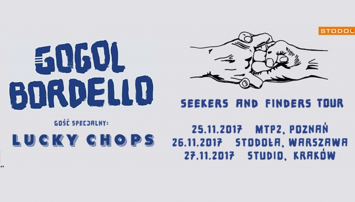 Gogol Bordello na trzech koncertach w Polsce!