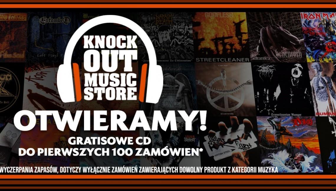 Knock Out Music Store otwiera sklep internetowy!