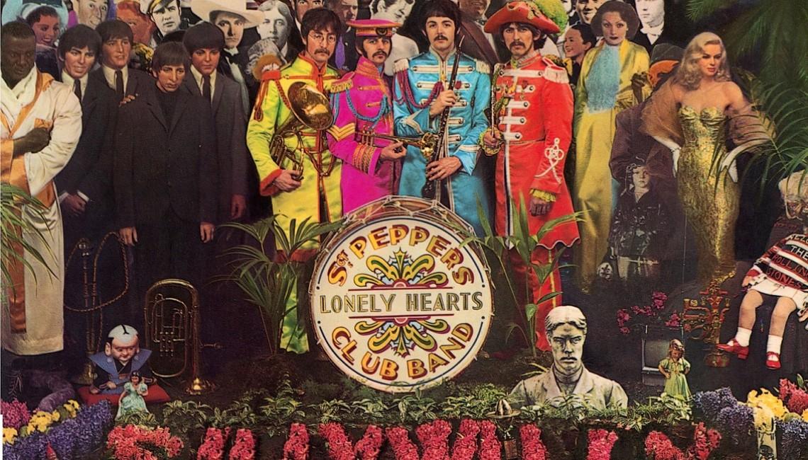 50. rocznica wydania legendarnej płyty Sgt. Pepper's Lonely Hearts Club Band zespołu The Beatles