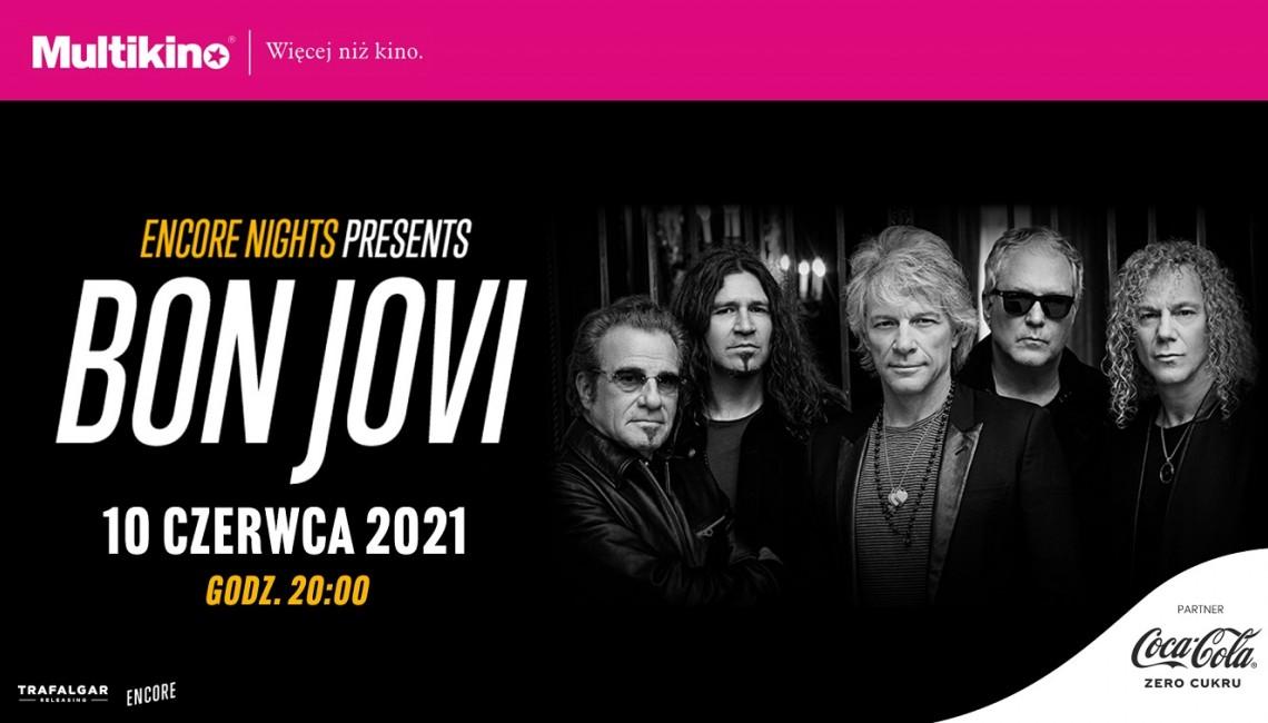 "Wygraj bilety do Multikina na koncert ""Bon Jovi from Encore Night"""