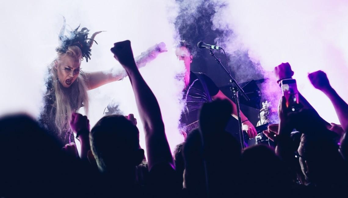 Nasza fotorelacja: Battle Beast & Arion w krakowskim klubie Kwadrat