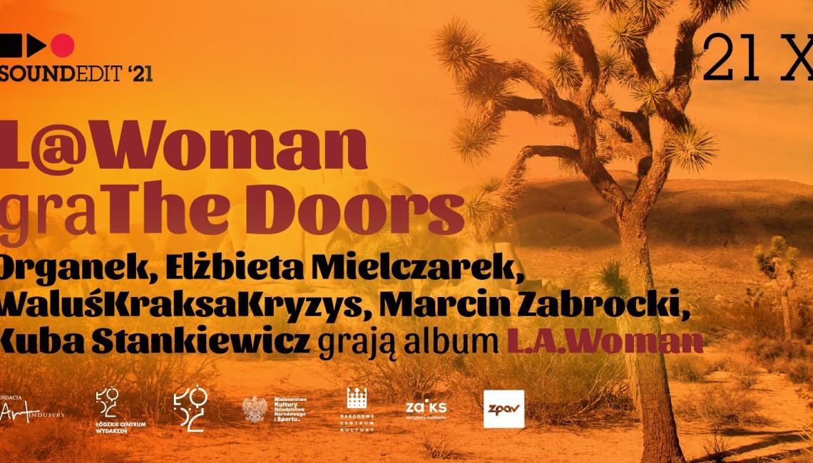 "Płyta ""L.A. Woman"" na Soundedit '21!"