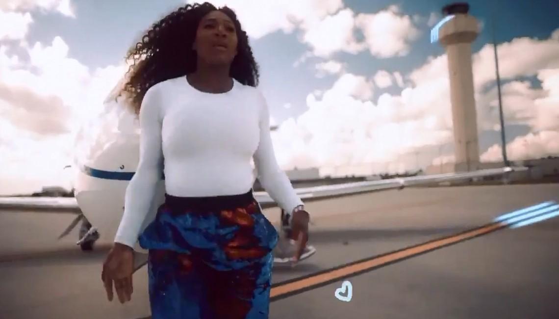 Serena Williams tańczy do 'Lemon' N.E.R.D - zobacz koniecznie hit Internetu!