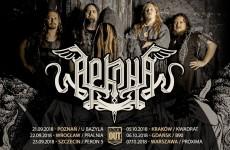 Arkona w Polsce: Dokładny plan koncertów