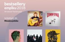 Co czytają, oglądają i czego słuchają Polacy? Znamy nominacje do  Bestsellerów Empiku 2018!