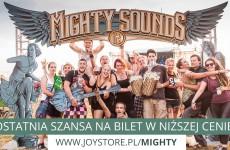 Mighty Sounds - promocyjne ceny karnetów tylko do końca kwietnia!