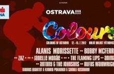 Miasteczko namiotowe na Colours of Ostrava 2012