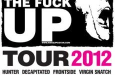 """Pełny skład charytatywnej trasy """"Covan Wake The Fuck Up Tour 2012""""!"""