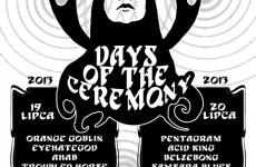 Days of the Ceremony 2013