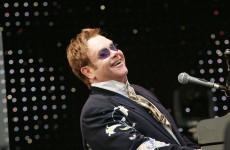 Elton John chce dwumetrowe palmy