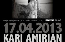 Kari Amirian wystąpi w HRC Kraków