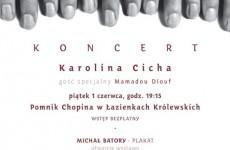 Dzisiaj Koncert Karoliny Cichej towarzyszący wystawie Michała Batorego
