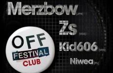 Merzbow, Zs i Kid 606 na OFF Festival Club Katowice