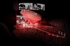 Ponad 30-metrowa gitara na koncercie Queen!