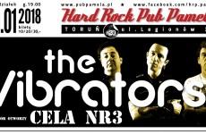 Cela nr 3 oraz The Vibrators w Hard Rock Pubie Pamela