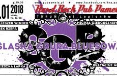 Śląskiej Grupy Bluesowej w Hard Rock Pubie Pamela już 10 stycznia!