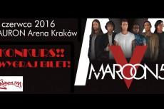 Rozwiązanie konkursu - wygraj bilet na Maroon 5