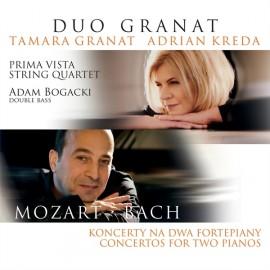 Mozart / Bach - Koncerty na Dwa Fortepiany