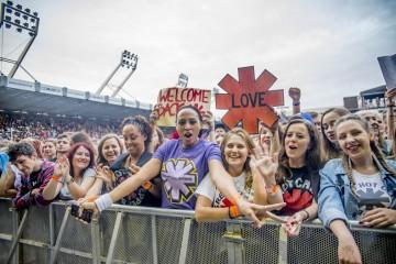 Zdjęcia publiczności: Tak się bawiliście na Koncercie Red Hot Chili Peppers