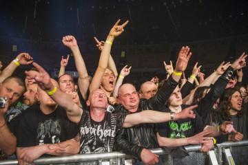 Zdjęcia publiczności: Tak się bawiliście na Metalmanii w Spodku