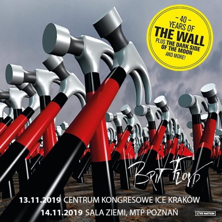 Brit Floyd - The Pink Floyd Tribute Show powraca z okazji 40-lecia rock opery Pink Floyd