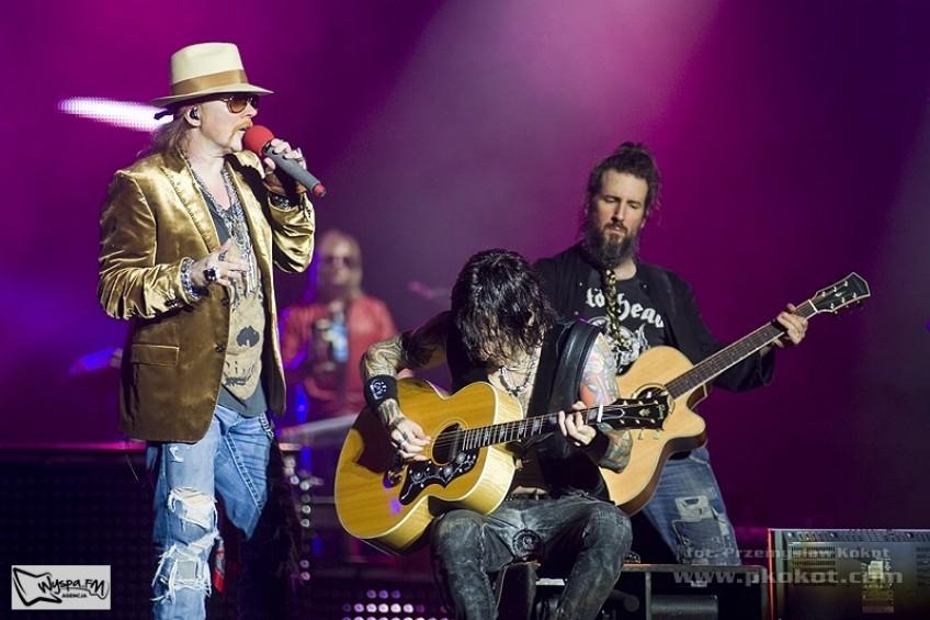 Guns n' Roses, Rybnik 11/07/2012