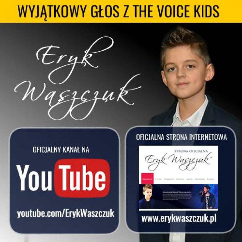 Eryk Waszczuk - Wyjątkowy głos z The Voice Kids podbija Internet!