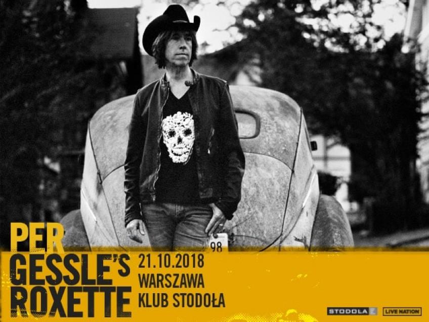 Per Gessle z muzyką Roxette wystąpi w Warszawie!