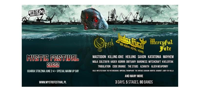 Mystic Festival 2022: Prezentujemy plakat i dwóch kolejnych wykonawców